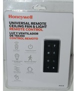 Honeywell 42136 Universal Remote Ceiling Fan Light Remote Control Black ... - $34.98