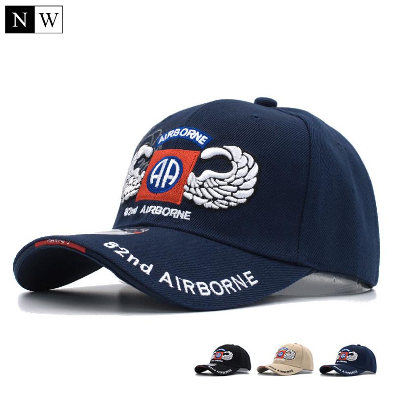 cbd74a1df0d01 Wood 2017 82nd ariborne tactical baseball cap men brand army cap gorra  snapback hats trucker 121