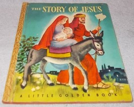 Vintage Little Golden Book The Story of Jesus 1946 Simon Schuster - $7.00