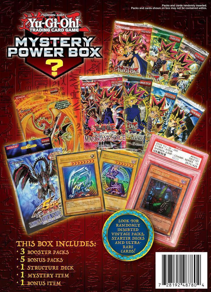 Yu-Gi-Oh! Mystery Power Box Trading Card Game - 1 Blind Pack [New]