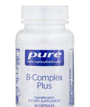 Pure Encapsulations - B-Complex Plus 60 Capsules - $20.10