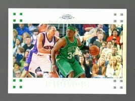 2007-08 TOPPS CHROME REFRACTOR #34 PAUL PIERCE 278/999 CELTICS - $3.99