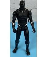 "Marvels Vibranium Black Panther 6"" Action Figure 2017 Hasbro No Accessor... - $8.75"