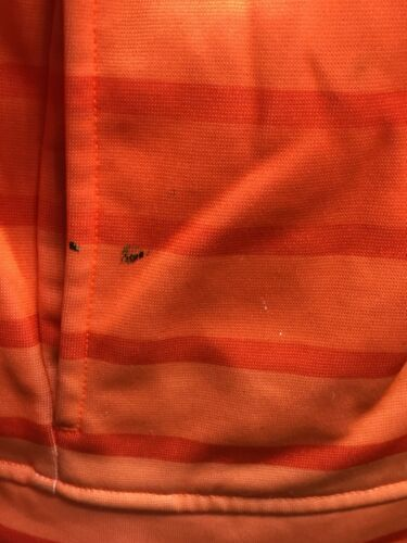 Under Armour Hoodie Sweatshirt Orange Stripe Youth Large image 9