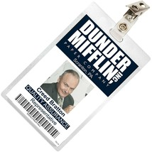 The Office Creed Bratton Mifflin ID Badge Cosplay Costume Name Tag TO-14 - $9.89