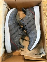 NEW Adidas Ultra Boost 4.0 Tech Ink Glow Blue Size 11.5 #G54002 Sneakers - $168.29