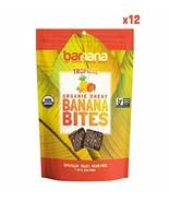 Barnana Organic Chewy Banana Bites - Tropical - 3.5 Ounce, 12 Pack Bites... - $49.88