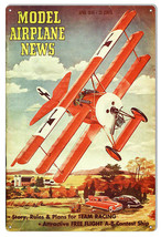 Aviation Model Airplane News April 1949 Magazine Cover 12×18 - $25.74