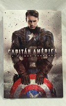 Captain America Spanish Marvel Disney Novel Novela Espagnol El Primer Ve... - $7.90