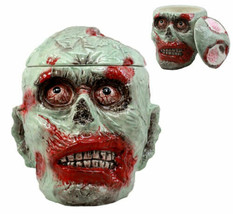 Apocalypse Walking Dead Zombie Cookie Jar Ceramic Decorative Figurine 8.... - $36.99