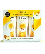 Olay Ultra Moisture Body Wash with Shea Butter 3 Pack 23.6 fl oz./ 70.8 ... - $25.73