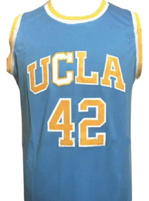 Kevin Love #42 College Basketball Jersey Sewn Blue Any Size
