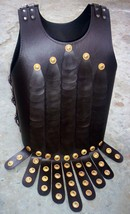 Medieval leather breastplate w/apron belt - fully wearable costume armour - $150.00