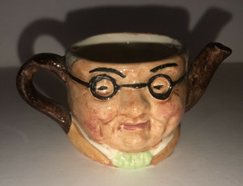 Vintage Artone England Jug two face with lid Mr. Pickwick Pub Man cave T... - $5.99