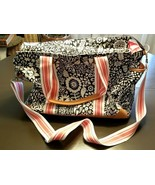 NEW Pottery Barn Kids Baby Margherita Missoni Diaper Bag Geo BLACK SAMPL... - $149.00