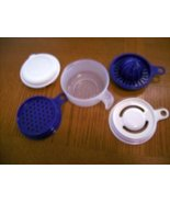 TUPPERWARE 5 pc Cooks Maid Juicer Grater more NEW RARE - $16.00
