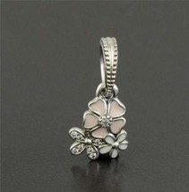Pandora Sterling Silver Poetic Blooms Charm - $35.00