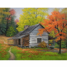 PaintingStyle RA3510 CHUNXIA Framed DIY Painting By Numbers Landscape Ac... - $7.40