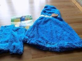Size XL 14-16 Sesame Street Cookie Monster Halloween Costume Dress Leg Warmers  - $28.00