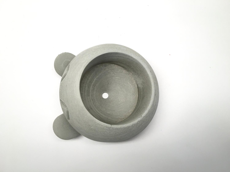 Large Concrete Oddish Planter - Candleholder
