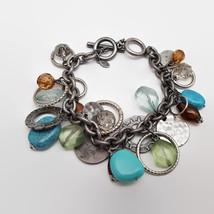 Premier Designs Beaded Charm Style Bracelet - $21.78