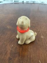 Vintage Little Tikes Dollhouse Dog Light Brown - $9.89