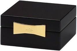 Kate Spade Garden Drive Black Lacquer Square Jewelry Box New In Box - $64.90