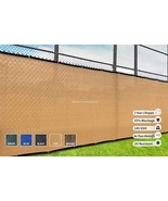 Heavy Duty Fence Privacy Screen 8ft x 50ft, Chain Link Fence Cover, Shad... - $68.87