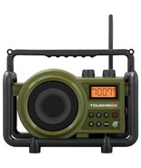 Sangean Toughbox Fm And Am And Aux Ultra rugged Digital Rechargeable Radio - $117.65