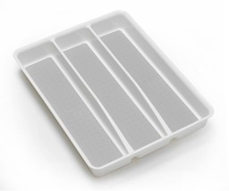 Style Selections 14.98-in x 12.09-in Plastic Cutlery Insert Drawer Organ... - $28.66
