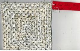 Tonia's Feed Sack String Cotton Granny Square Wipe A1 - $10.00
