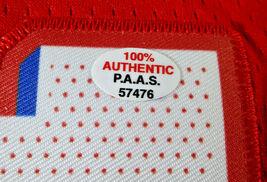 JOEL EMBIID / PHILADELPHIA 76ERS / AUTOGRAPHED 76ERS RED PRO STYLE JERSEY / COA image 8