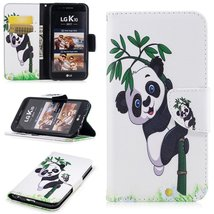 XYX Wallet Phone Case for LG K20 Plus Case,LG LV5,[Panda Bamboo][Kicksta... - $9.88