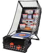 Franklin Sports Basketball Arcade Game - Table Top Bounce A Bucket Shoot... - $41.99