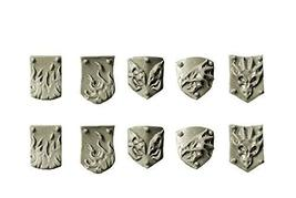 Spellcrow Conversion Bits: Small Shields for Salamanders Dragons Knights