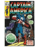 Bronze Age 1970 Captain America Comic 124 from Marvel Comics Cyborg  - $19.80