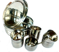 Stainless Steel Masala Box,Spice Box,Masala Dabba,Spice Container rack,I... - $30.35
