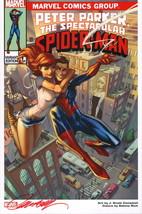 J Scott Campbell SIGNED Amazing Spider-man Marvel Comic Art Print ~ Mary Jane - $49.49