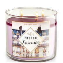 Bath & Body Works French Lavender Three Wick 14.5 Ounces Scented Candle - $22.49