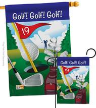 Golf!, Golf! - Impressions Decorative Flags Set S109043-BO - $57.97