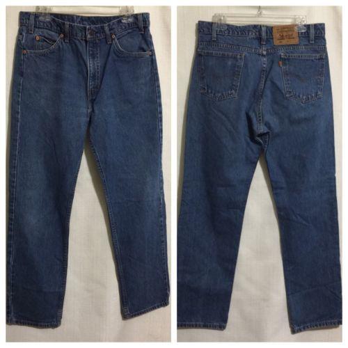 f23e1a345f2 12. 12. Previous. Vintage Levi 505 ORANGE TAB Levi's Men's Jeans 34 X 31 USA  Made · Vintage Levi ...