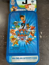 Paw Patrol On The Go Activity Case Summer road Trips Ages 3+ - $9.67
