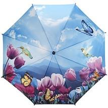 Galleria Tulip Sonata Auto-Open Extra Large Quality Women's Rain Stick U... - $38.78
