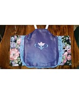Chicken saddle with embroidery flowers SOLD - $12.50