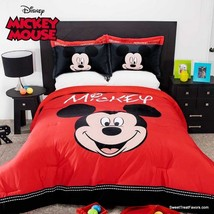 Mickey Mouse Beautiful Comforter Reversible Soft Boy 2PCS Twin Limited Edition - $108.90