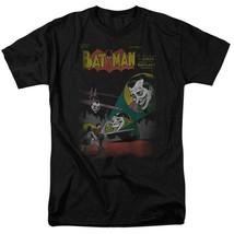 Batman Joker T-shirt SuperFriends retro 80s cartoon DC black graphic tee DCO161 image 2