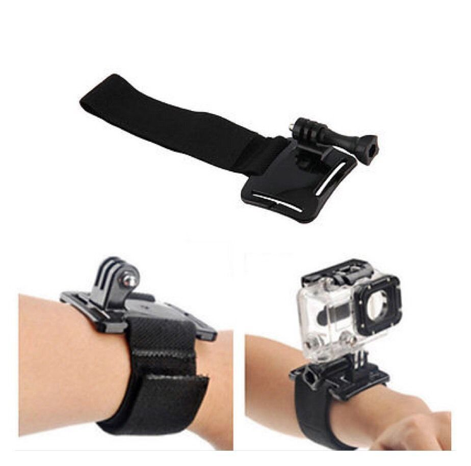 Gopro Adjustable Case Wrist Strap Band Mount for Gopro Hero 4 3+ 2 1 AB13