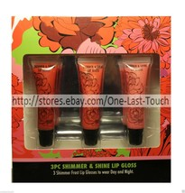 HEDY'S MA.NISH.MA* 3pc Set SHIMMER & SHINE Frost Lip Gloss WINTER SPARKL... - $5.41