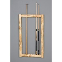 Viking Klondike Wall Framed Cue Rack in Clear Finish - $200.61