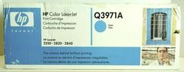 HP Color Laser Jet Q3971A Cyan Print Cartridge - $40.00